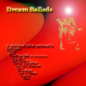 """Dream Ballads"" available now for purchase..."
