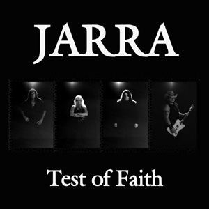 "Jarra - ""Test of Faith""  available now for purchase."